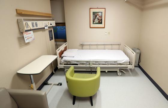 세브란스 병원의 임종실 모습.[중앙포토]