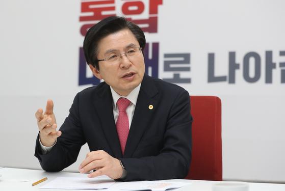 자유한국당 황교안 대표 [연합뉴스]