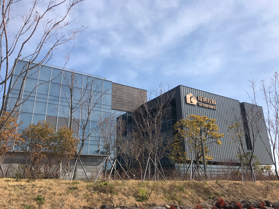 제주도 서귀포시 토평동 녹지국제병원 전경. 최충일 기자