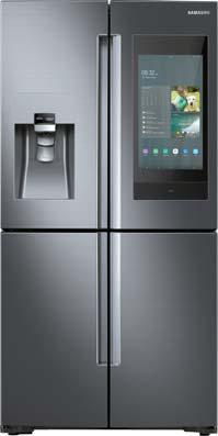 삼성은 AI·IoT 기술 도입과 냉장고 본원 적 기능의 향상을 위해 노력하고 있다.