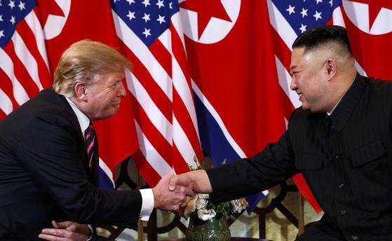 윌리엄 매건 미 월스트리트저널(WSJ) 편집위원은 제2차 북미 정상회담에서 회담을 결렬시킨 것이 향후 북한과의 협상에서 미국의 협상팀을 더 유리한 위치에 올려놓았다고 분석했다. [AP=연합뉴스]