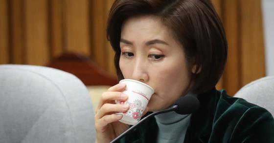 나경원 자유한국당 원내대표. [중앙포토]