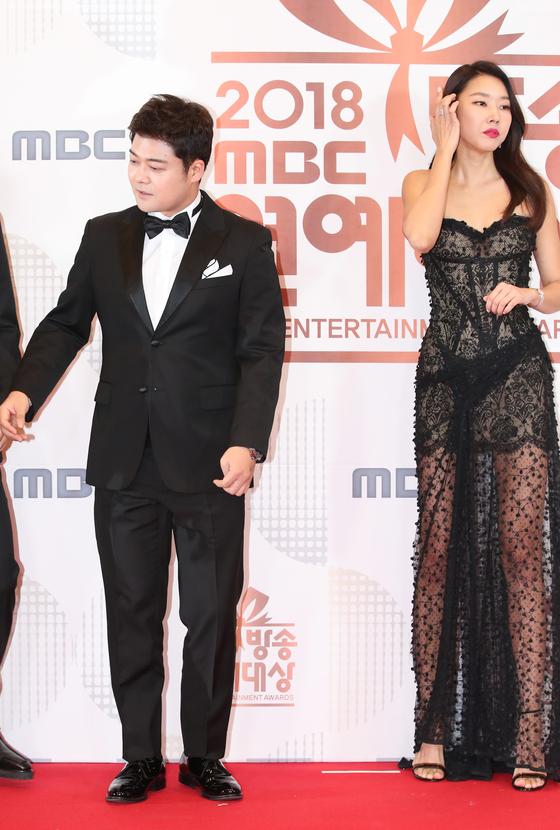 방송인 전현무와 모델 한혜진이 결별을 공식 인정했다. [뉴스1]