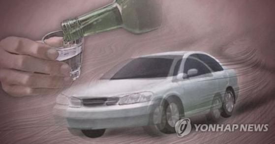 음주운전을 하다 잠든 현직 경찰관이 경찰에 붙잡혔다. [연합뉴스]