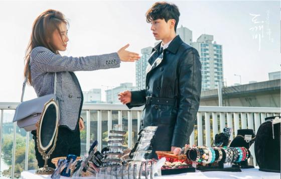 유인나와 이동욱은 2016년 '도깨비'에서 먼저 호흡을 맞췄다. [사진 tvN]