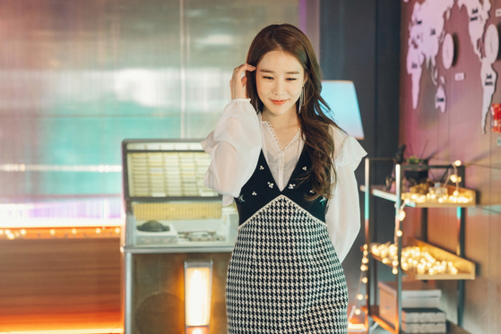 드라마 '진심이 닿다'에서 톱스타 오윤서(오진심) 역할을 맡은 배우 유인나. [사진 tvN]