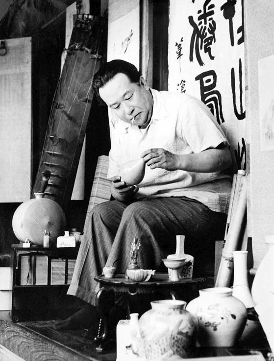 문화재 지킴이로 독립운동을 펼친 간송 전형필(1906~1962).[사진 간송미술관]