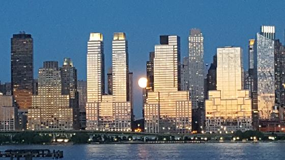 뉴욕 맨해튼 허드슨 강변 일대. [중앙포토]