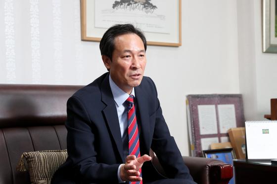 우상호 더불어민주당 의원. [중앙포토]