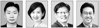 김태훈, 김연주, 정상윤, 박용서(왼쪽부터).