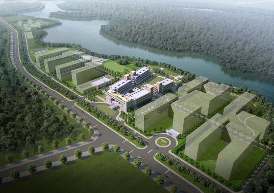 한국과학기술연구원(KIST)를 모델로 2020년 베트남 하노이 근교에 세워지는 한-베 과학기술연구원(VKIST) 조감도. 제공:KIST