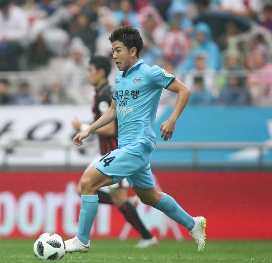 김대원은 지난해 8월 잡은 기회를 놓치지 않았다. 이후 두 달간 공격포인트 8개를 기록하며 맹활약했다. K League 제공