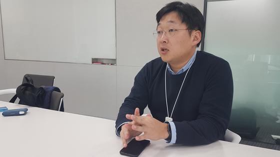 지난 13일 경기 성남시 판교에 있는 본사에서 본지와 인터뷰 한 정주환 카카오모빌리티 대표. 박민제 기자