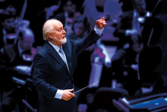 영화음악의 거장 존 윌리엄스. 17일 두다멜 지휘로 LA필하모닉 콘서트가 열린다. [사진 마스트미디어]