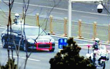 지난해 6월 김 위원장이 베이징에서 이용한 벤츠 리무진. [유엔 대북제재위 자료 캡처]