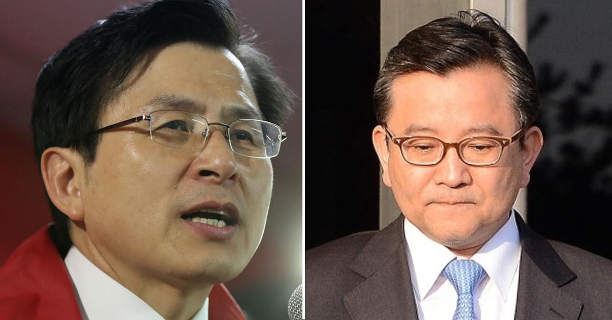 황교안 자유한국당 대표(왼쪽)과 김학의 전 법무부 차관. [연합뉴스·뉴스1]