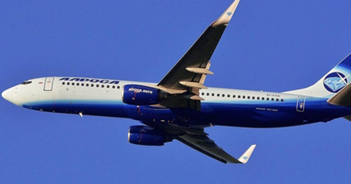 러시아 항공사 알로사 소속의 '보잉 737-800 여객기' [위키피디아=연합뉴스]