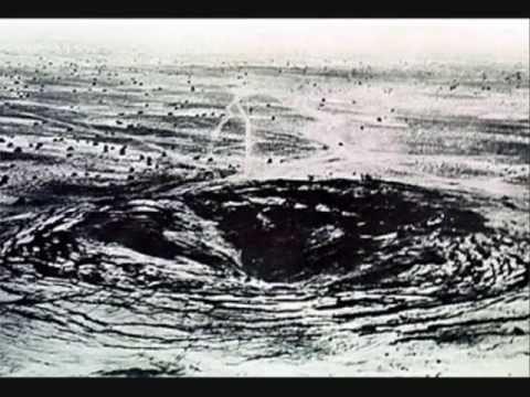 1974년 인도의 첫 핵실험 당시 생긴 거대한 함몰 부위.[중앙포토]