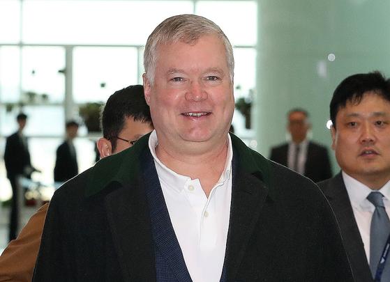 스티븐 비건 미국 국무부 대북특별대표 [뉴스1]