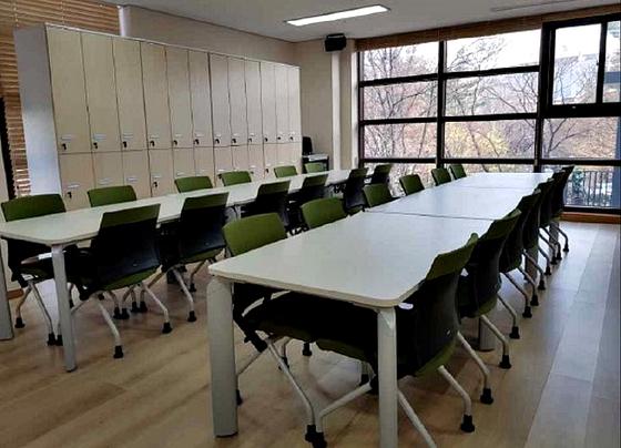 서울 영등포구 신길동에 있는 구립 데이케이센터의 생활실.[사진 서울시]