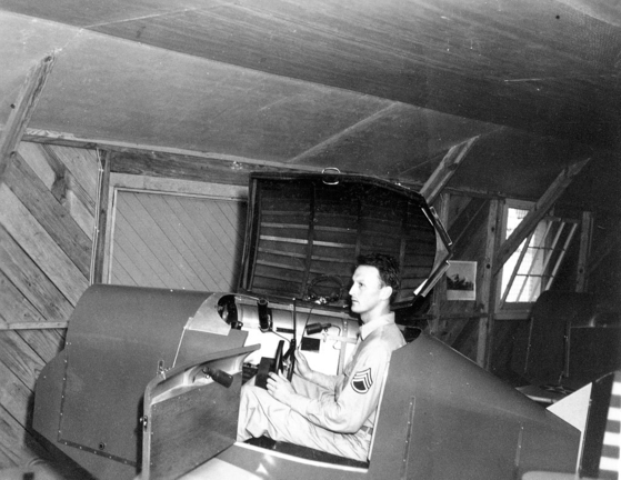 제2차 세계대전 미군이 사용하던 링크. 초기 형태의 비행 시뮬레이터다. [사진 위키피디어]