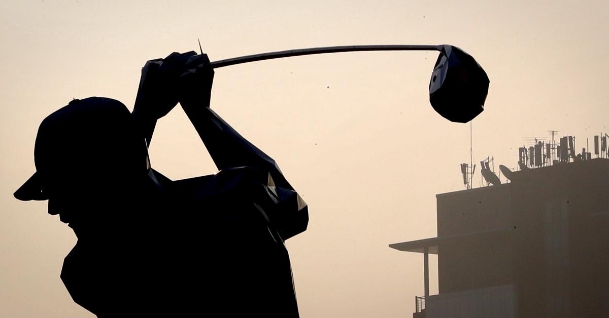한 골프장 이용객이 다른 홀에서 날아온 공을 맞고 쓰러졌다. (※이 사진은 기사 내용과 직접적인 관련이 없습니다) [연합뉴스]
