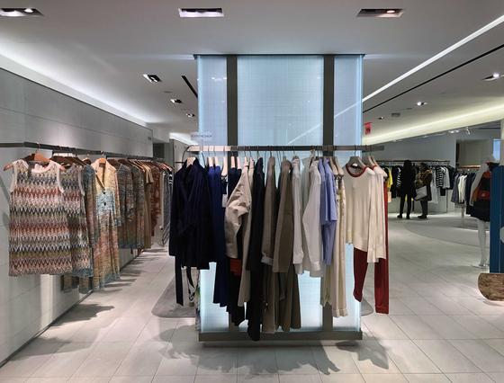 미국 뉴욕 버그도프 굿맨에 있는 분더샵 컬렉션 매장의 모습. [사진 신세계백화점]