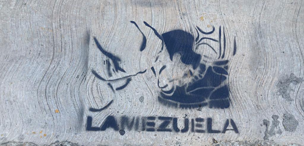 2011년 Lamezuela의 낙서 이미지. [사진 데보라 카스티요]
