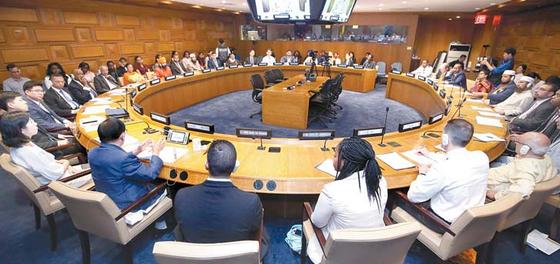 지난해 5월 31일 유엔본부에서 열린 '평화와 발전을 위한 문화간 소통' 행사
