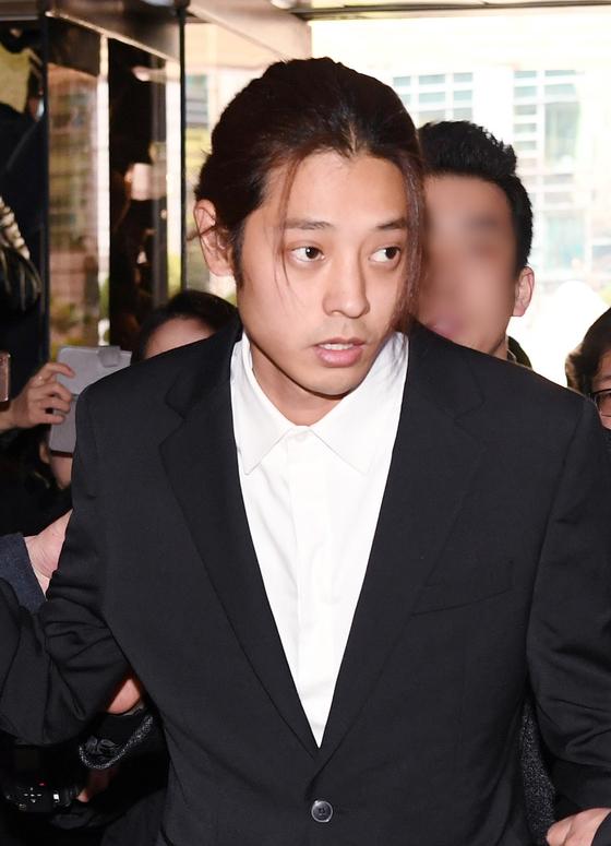 동영상 불법 촬영·유포 논란을 빚은 가수 정준영. [일간스포츠]