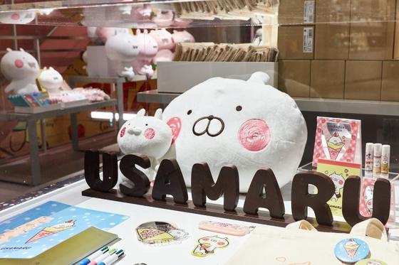 라인 크리에이터스 마켓으로 탄생한 우사마루 캐릭터