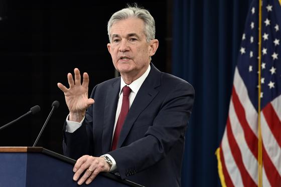 제롬 파월 연방준비제도(Fed) 의장. [AP]