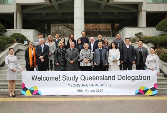 연성대, 호주 퀸스랜드 주정부와 직업교육 논의