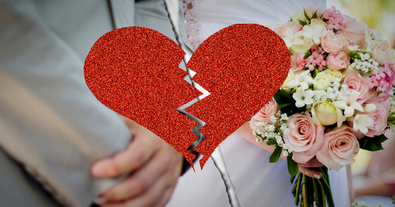 깨진 결혼 [중앙포토]