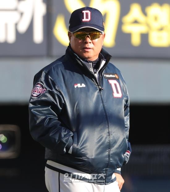 김태형 감독이 이끄는 두산 베어스는 올 시즌에도 우승 후보다
