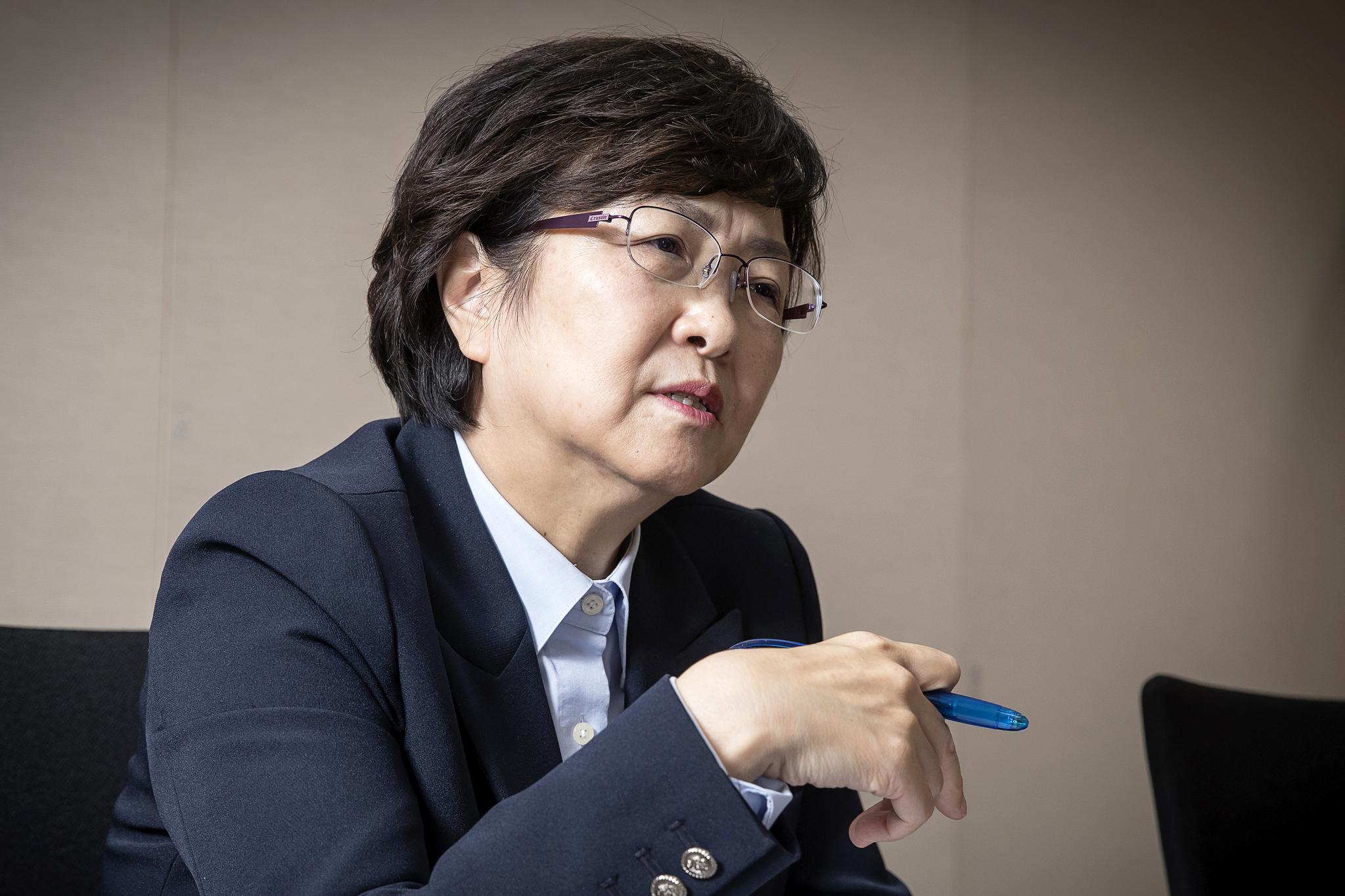 김은경 전 환경부 장관. 장진영 기자