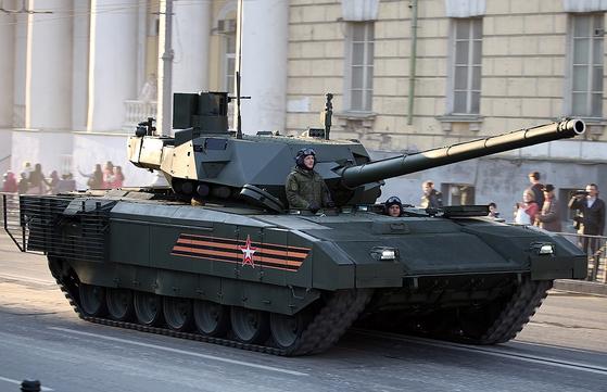 러시아의 신형 전차 T-14 아르마타. [사진 Vitaly V. Kuzmin]