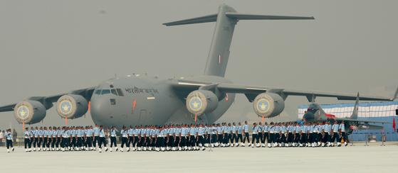 인도의 C-17등 미국제 무기 도입은 러시아에게 큰 타격을 주었다. [사진 인도 공군]