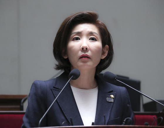 나경원 자유한국당 원내대표. 임현동 기자