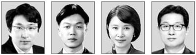 홍동우, 김동일, 김선아, 김용태(왼쪽부터).