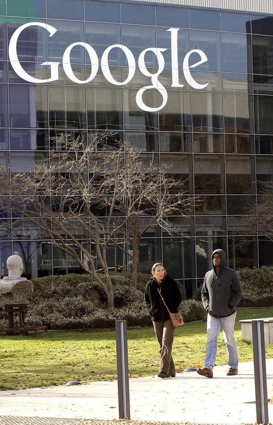 실리콘밸리로 꼽히는 미국 캘리포니아주 마운틴뷰에 위치한 IT기업 구글 본사 풍경. [AP=연합뉴스]