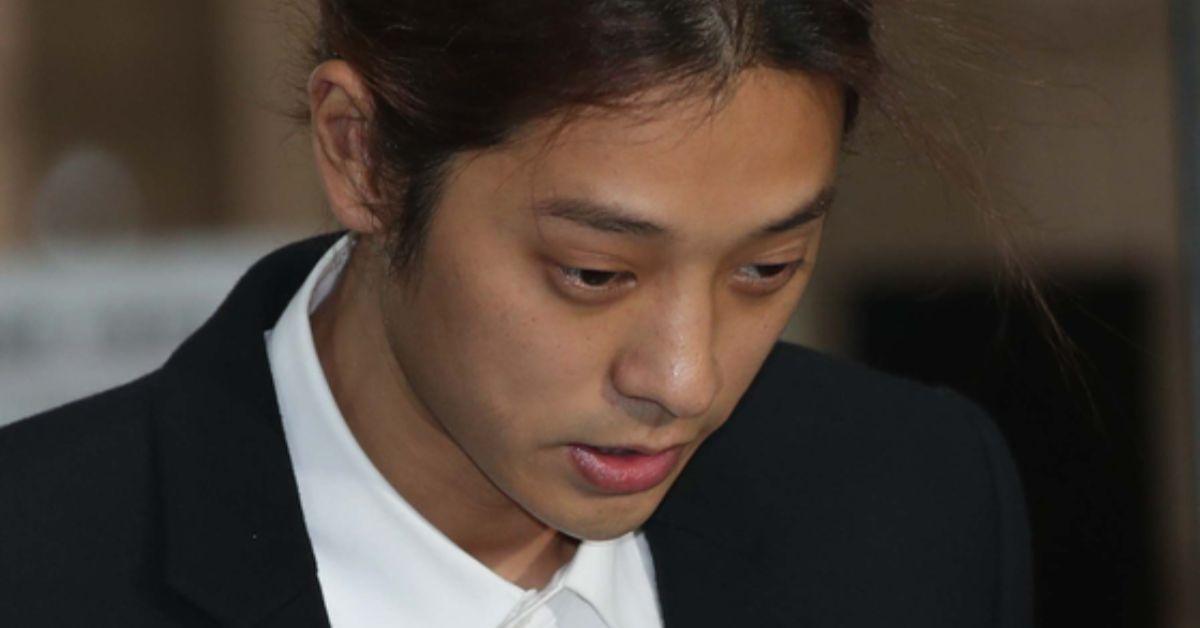 정준영이 21일 서울 서초동 서울중앙지법에 성관계 몰카 혐의로 영장실질심사를 받기 위해 출석하고 있다. 오종택 기자