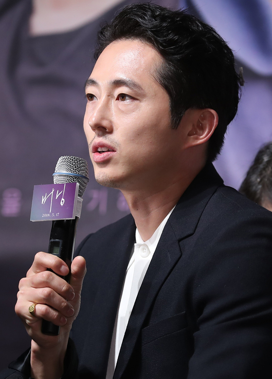 한국계 미국 배우 스티븐 연. [일간스포츠]