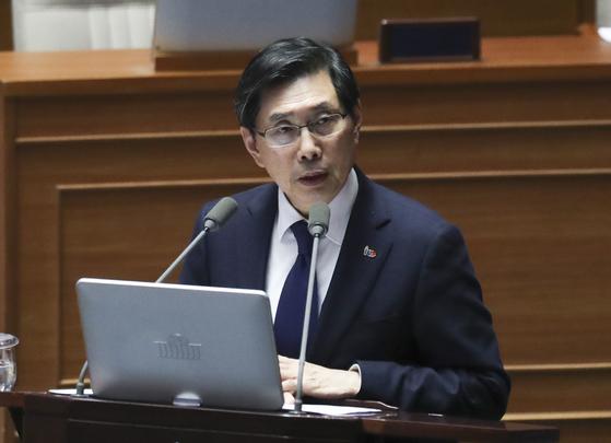 박상기 법무부 장관. 임현동 기자