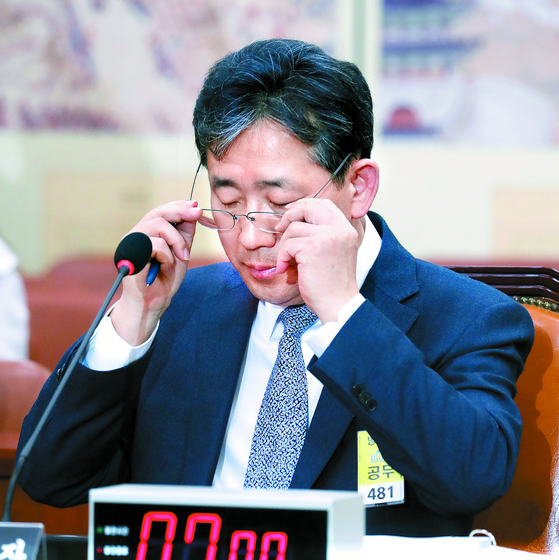박양우 문체부 장관 후보자에 대한 인사청문회가 26일 열렸다. 박 후보자의 증여세 납부 등에 대한 질의가 이어졌다. [임현동 기자]