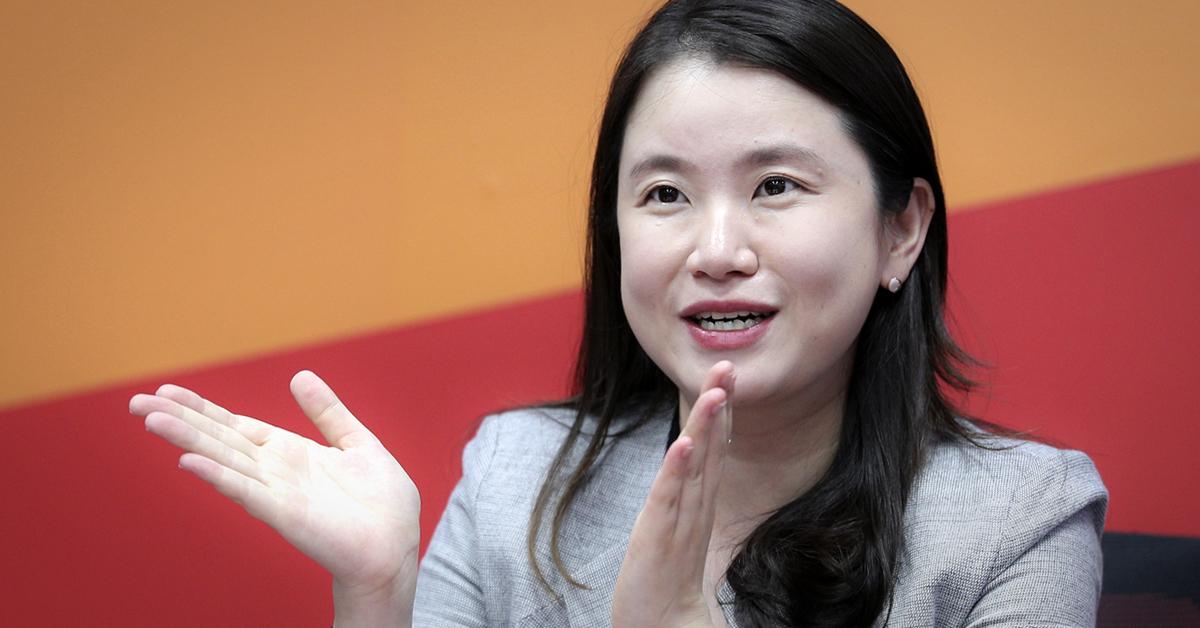 신보라 자유한국당 의원. [중앙포토]