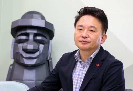원희룡 제주도지사. 프리랜서 장정필