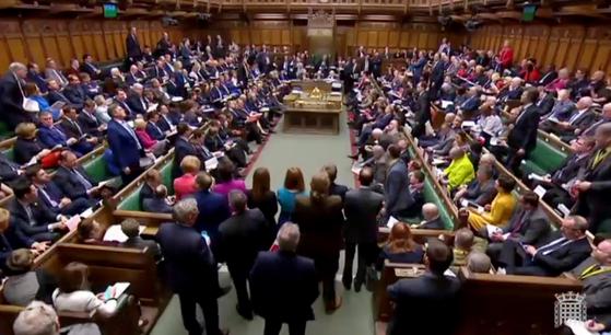 영국 하원은 정부 합의안에 대한 대안으로 8개 방안을 표결에 부쳤지만 모두 부결됐다. [EPA=연합뉴스]