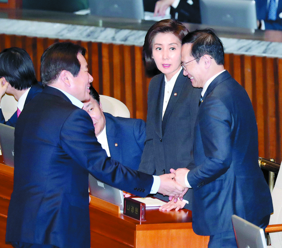 한국당, 장관후보 전원 청문보고서 거부