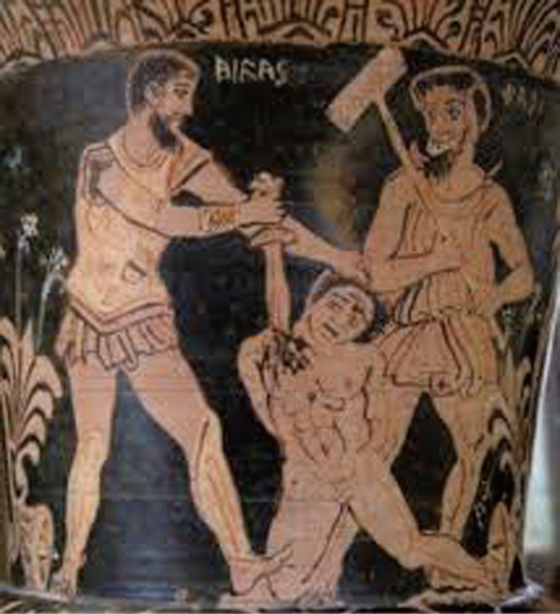 아테네 시민들은 정치가들의 선동에 넘어가 전쟁 영웅들을 스스로 처형하는 우를 범했다.